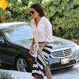 Eva Longoria visite une maison à West Hollywood avec son petit ami Ernesto Argello, le 24 juillet 2013.