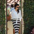 Eva Longoria aperçue en train de visiter une maison avec son petit ami Ernesto Arguello à West Hollywood, le 24 juillet 2013.