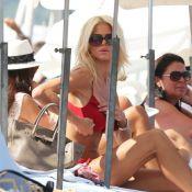 Victoria Silvstedt et Nicole Richie : Bronzette et shopping à Saint-Tropez