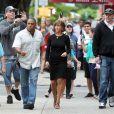 """Jennifer Aniston sur le tournage du film """"Squirrels To The Nuts"""" à New York, le 25 juillet 2013."""