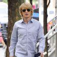 """Owen Wilson sur le tournage du film """"Squirrels To The Nuts"""" à New York, le 23 juillet 2013."""