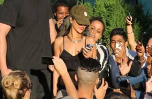 Rihanna : Malgré une grosse amende, elle reste sexy et souriante en Norvège