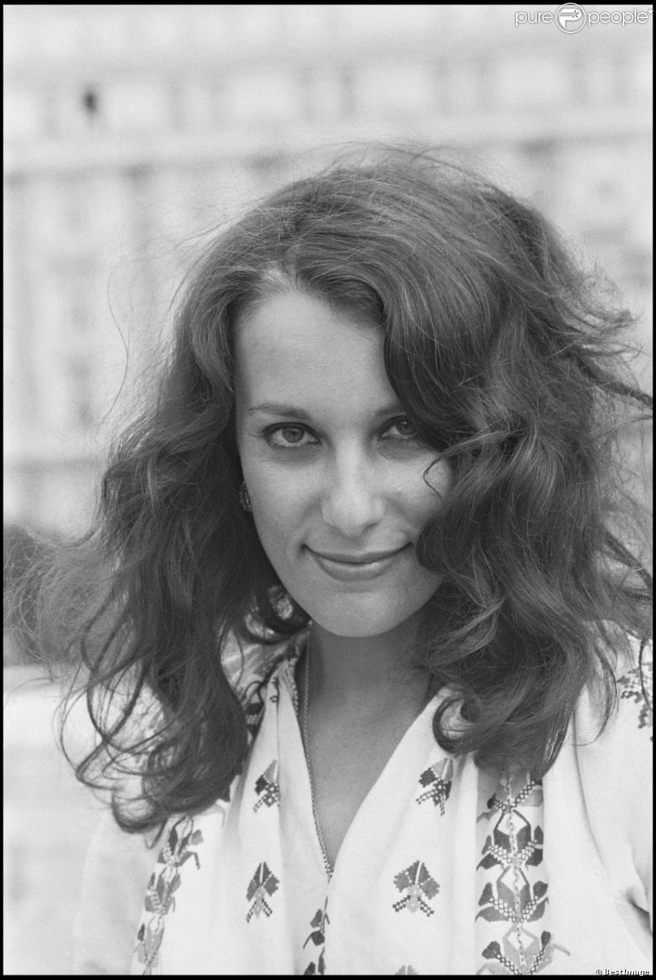 Bernadette Lafont au Festival de Cannes en 1973 pour défendre La Maman et la putain