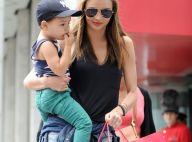 Miranda Kerr, Orlando Bloom et leur petit  Flynn : Dolce Vita à New York