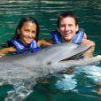 Lionel Messi et sa compagne Antonella Roccuzzo à Cancún en 2010.