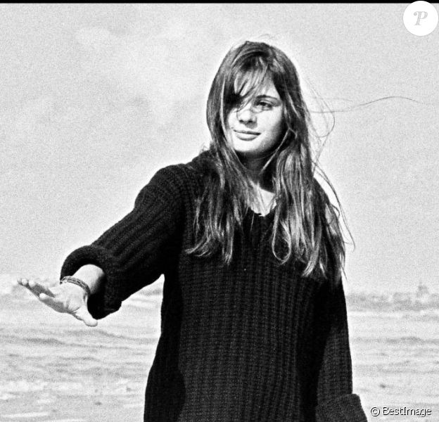 Marie Trintignant lors d'un voyage en Israël en 1980