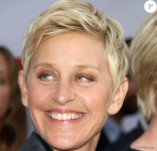 Ellen DeGeneres à Hollywood, le 29 avril 2013.