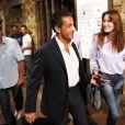 Nicolas Sarkozy et son épouse Carla Bruni ont assisté au concert de Julien Clerc dans le cadre du festival de Ramatuelle le 3 août 2013.