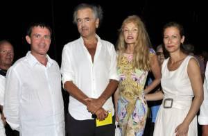 BHL et Arielle Dombasle, Manuel Valls et Anne Gravoin : Quatuor amoureux