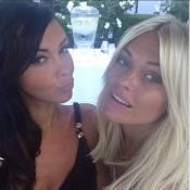 Hollywood Girls 3 : Caroline Receveur, ravissante, s'éclate avec la sexy Nabilla
