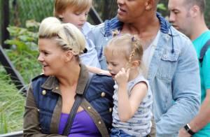 Kerry Katona : Son amoureux George Kay, papa-poule pour ses enfants Heidi et Max