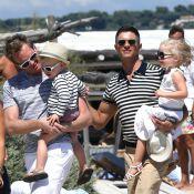 Neil Patrick Harris à Saint-Tropez avec mari, enfants et le clan d'Elton John
