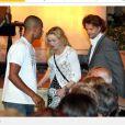 Madonna et Brahim Zaibat ont assisté à un concert de musique classique à Menton, le 9 août 2013.