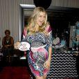 Fergie lors de sa baby shower à Los Angeles, le 28 juillet 2013.