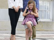 Princesse Isabella : Excitée et fière de son cartable pour sa rentrée à l'école