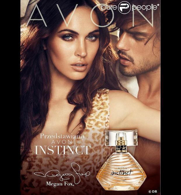Megan Fox dans la publicité Avon dont elle est la nouvelle égérie