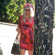 Fergie (très enceinte) se rend à a troisième baby-shower à Los Angeles. Le 17 août 2013.