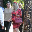 Fergie (très enceinte) se rend à a troisième baby-shower à West Hollywood. Le 17 août 2013.