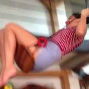 Olivia Munn chute lourdement d'une balançoire, la vidéo fait le buzz