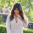 L'aînée de la famille Kardashian, Kourtney, et son compagnon Scott Disick vont dîner à Sugarfish dans la ville de Calabasas près de Los Angeles, le 19 août 2013.