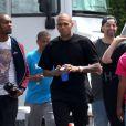 Chris Brown à Los Angeles, le 2 août 2013.