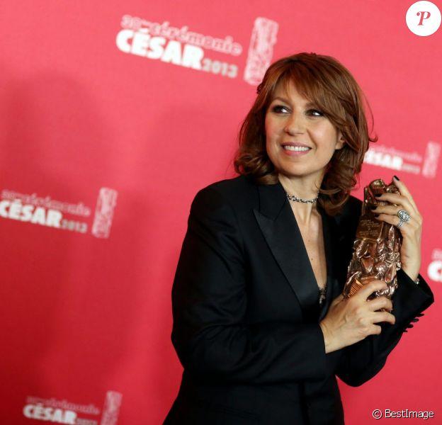Valérie Benguigui lors des César 2013