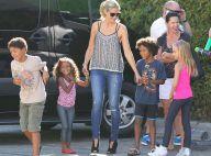 Heidi Klum : Maman comblée et amoureuse chouchoutée, la blonde au top !
