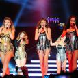 Les Girls Aloud en concert à Newcastle, le 21 février 2013.