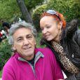 Jean-Pierre Savelli et sa femme Sandy à Neuilly-sur-Seine le 17 septembre 2011.