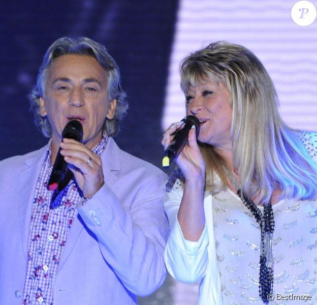Peter et Sloane dans Vivement dimanche en octobre 2012.