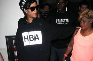 Rihanna : Avec sa mère et son petit frère Rajad pour la fin des vacances