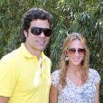 Raíet sa femme à Roland-Garros en juin 2010.
