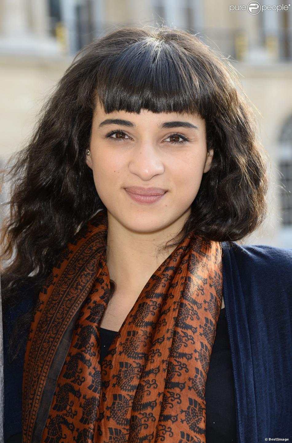 """Camélia Jordana à la Fête de la Musique au """"Ministère de la Culture"""" à Paris, le 21 juin 2013."""