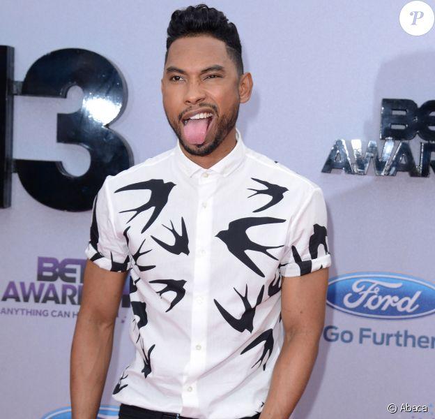 Miguel aux BET Awards à Los Angeles, le 30 juin 2013.