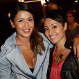 Karima Charni et sa soeur Hedia Charni au cinéma Gaumont Marignan pour la présentation de la 3e saison de SODA, à Paris, le 6 septembre 2013.