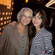 Chantal Garrigues et Syrielle Mejias au cinéma Gaumont Marignan pour la présentation de la 3e saison de SODA, à Paris, le 6 septembre 2013.