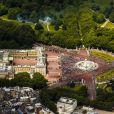 Vue aérienne de Buckingham Palace, en juin 2013