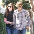 Julia Roberts et son mari Daniel Moder dans les rues de Santa Monica, le 16 février 2013.