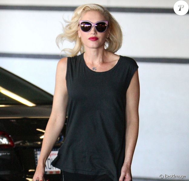 Gwen Stefani, enceinte, se rend chez le médecin à West Hollywood, le 5 septembre 2013.