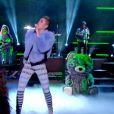 Miley Cyrus a interprété son tube We Can't Stop, sur le plateau du Grand Journal, le 9 septembre 2013.