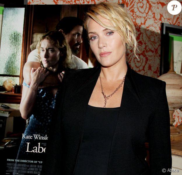 Kate Winslet lors de la présentation à New York du film Labor Day le 9 septembre 2013
