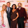 """Claire Danes, Damian Lewis, Morena Baccarin (enceinte), Mandy Patinkin - Première de la saison 3 de """"Homeland"""" à Washington, le 9 septembre 2013."""