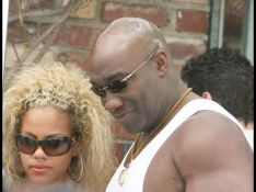 PHOTOS : Michael Clarke Duncan, un colosse amoureux !