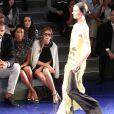 Tyson Chandler, Kimberly Chandler et Olivia Palermo assistent au défilé Vera Wang printemps-été 2014 au Lincoln Center. New York, le 10 septembre 2013.