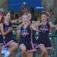 Exclusif - Ava Sambora (fille d'Heather Locklear et de Richier Sambora) joue la pom-pom girl pour son équipe de foot à Los Angeles, le 12 septembre 2013.