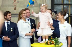 Estelle de Suède et la famille royale en liesse au jubilé du roi Carl XVI Gustaf