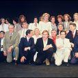 Les acteurs rendent hommage à François Truffaut à Cannes en 1985