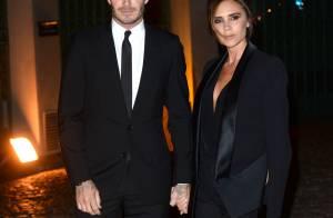 David Beckham : Soirée en amoureux, il a Victoria dans la peau !