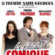 Pierre Palmade de retour sur les planches avec  Le fils du comique , à partir du 27 septembre 2013 au Théâtre Saint-Georges.