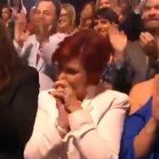 Sharon Osbourne : Emue aux larmes face aux exploits de son fils Jack Osbourne